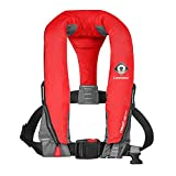 Crewfit 165N Sport Auto (Non-Harness) Life Jacket - Red 9010RA