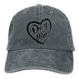 Fashion Home Dog Mom Unisex Denim Baseball Cap Adjustable Strap Low Profile Plain Hats Outdoor Casquette Snapback Hats Natural