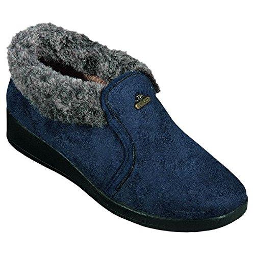 Flyflot 861779alte, da donna pantofole Blu (blu)