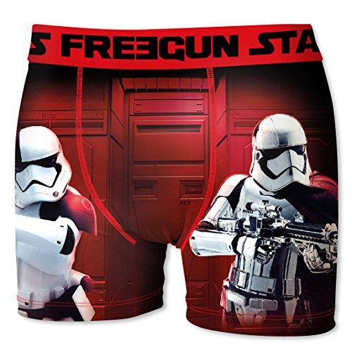 Freegun Herren Panties Boxer, 3er Pack Multicolore (Multicolor)