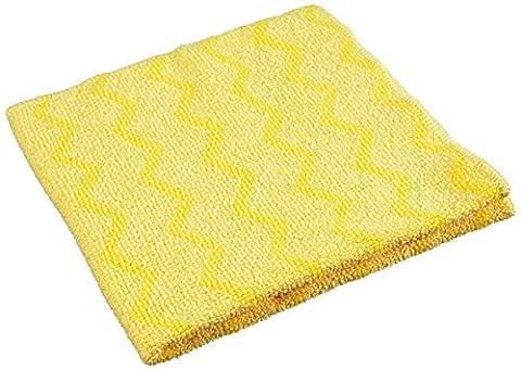 Rubbermaid HYGEN Chiffon de nettoyage en microfibre–Parent, jaune, 1