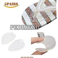 pedimend Ball von Fuß Kissen Schuh Pads (5pairs) klar selbstklebend, Zehen Protektoren links und rechts protecet... preisvergleich bei billige-tabletten.eu