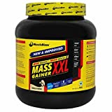 MuscleBlaze Mass Gainer XXL with Complex Carbs and Proteins in 3:1 ratio, 2.2 lb (Vanilla)