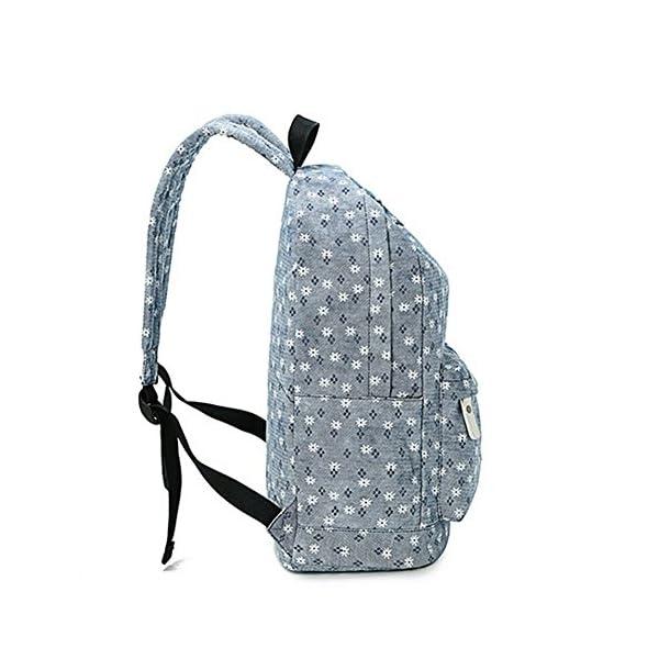 51g7KjEpnTL. SS600  - Moollyfox Niña Dulce floral del Estilo fresco Linda la capacidad grande Mochila bolso de escuela Para Adolecente…