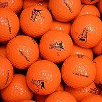 Links Choice 12 palline da golf colorate Arancione
