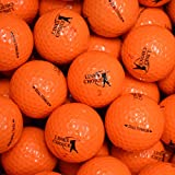 LP-Golf Golfbälle 12er Pack orange