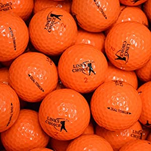 LP-Golf Golfbälle 12er Pack, orange, 5060017779431
