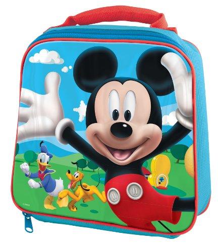 Mickey  und  Minnie 734053 - Mickey Thermos Tasche 23x8x21 cm (Mickey Mouse Tisch-set)