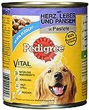 Pedigree Dose Adult mit Herz, Leber und Pansen, 800 g