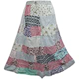 Boho Chic Designs - Falda - trapecio - para mujer