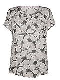 Damen Bluse aus reiner Viskose by Alba Moda White
