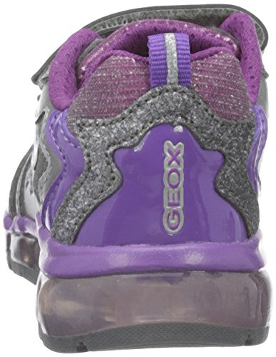 Geox J Android A, Baskets Basses Fille Silber (GREYC1006)