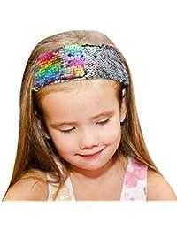 9f7e2ae2659 ... Hats   Caps   Multicolour. De feuilles Chic-Chic 6PCS Baby Girls  Knitting Headbands Flower Bow Turban Hair Band Photography