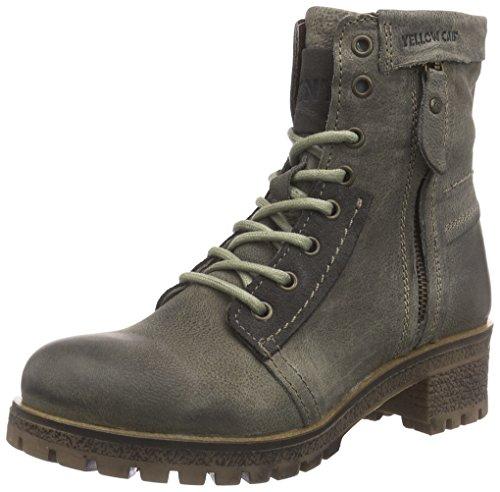 Yellow Cab Warrior W, Damen Biker Boots, Grau (Moss), 40 EU