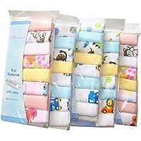 Pack de 8 paños de muselina extra suaves para recién nacido, 2 capas, algodón natural, gasa, toallas de bebé por Busy Mom 30 x 30