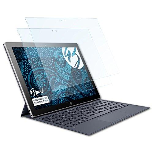 Bruni Schutzfolie kompatibel mit HP Envy x2 2018 Folie, glasklare Bildschirmschutzfolie (2X)