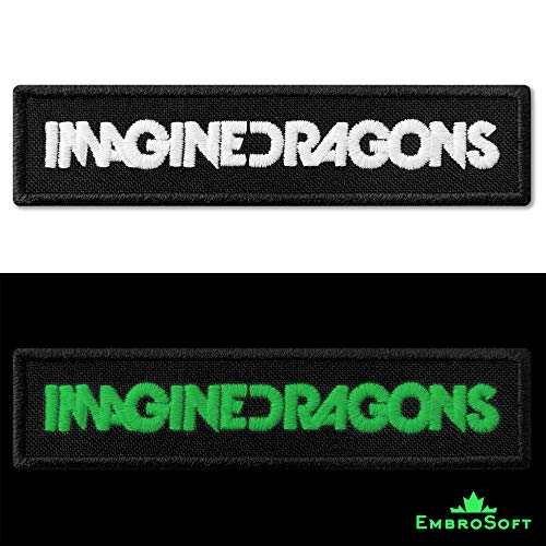 Imagine Dragons Parche bordado texto inglés