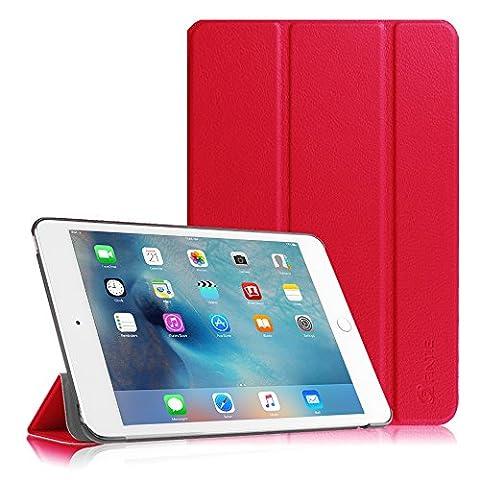 iPad Mini 4 Hülle - Fintie Ultradünn Superleicht Smart Cover Schutzhülle Tasche Case mit Ständer und Auto Sleep / Wake Funktion für Apple iPad mini 4,