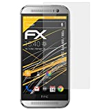 atFolix Panzerfolie kompatibel mit HTC One M8 / M8s Schutzfolie, entspiegelnde & stoßdämpfende FX Folie (3X)