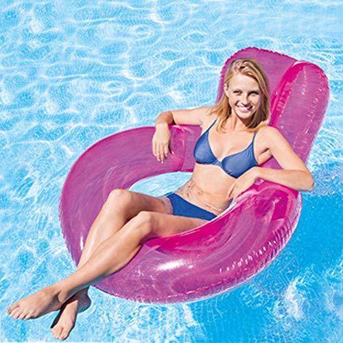 Annular Floating Row Schwimmring Floating Bed Wasserversorgung für Erwachsene Spielzeug Schwimmen graceful -