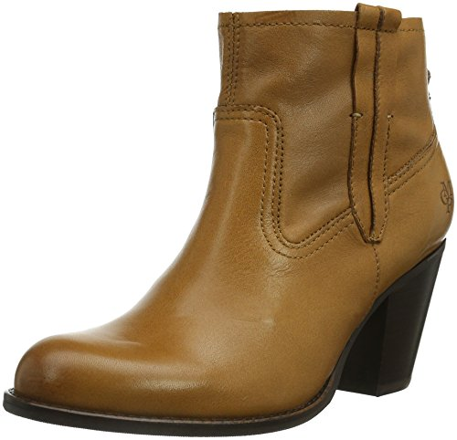 Marc O'Polo Mid Heel Bootie, Boots femme Beige