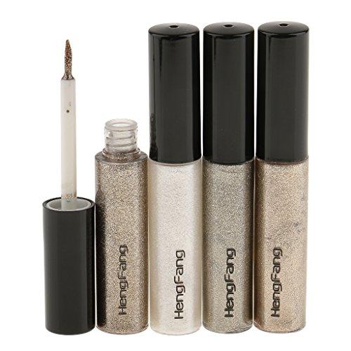 Gazechimp Wasserdicht Auge Liner Stift Glitzer Flüssiger Eyeliner Makeup Stick (4 Farben)...