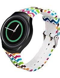 Samsung Galaxy Gear S2 SM-R720 correas para reloj - Sannysis correas para relojes, Silicona de Banda, color G