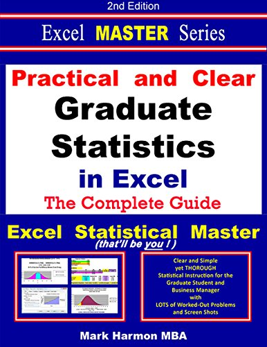 Practical and Clear Graduate Statistics in Excel - The Excel Statistical Master (English Edition)