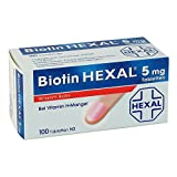 Biotin Hexal 5 mg, 100 St. Tabletten