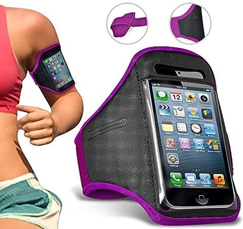 Kyocera Torque XT Armband Sports Running Jogging Riding Gym Armband Housse de transport pour cycliste