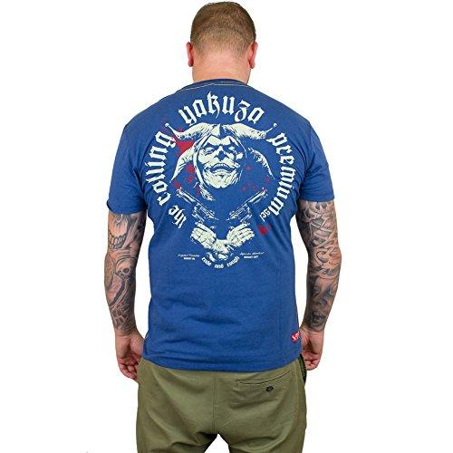 Yakuza Premium T-Shirt 2105 blau Blau