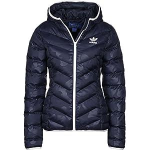 Adidas winterjacke blau damen