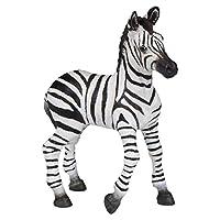 Papo 50123 Zebra foal WILD ANIMAL KINGDOM Figurine, Multicolour