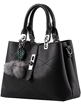 Menschwear Damen Handtasche Marken Handtaschen Elegant Taschen Shopper Reissverschluss Frauen Handtaschen 28cm