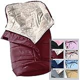 Infantastic® - Saco portabebé de forro polar aprox. 46 x 96 cm (diferentes colores a elegir)