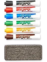 Dry Erase Marker Organizer, Chisel Tip, Assorted, 6/Set, Sold as 1 Set