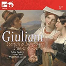 6 Mélodies Ecossaises, 6 Mélodies Irlandaises, Etudes, Rossiniana