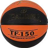 Spalding ACB-L.Endesa Tf150 Sz. 7 (83-892Z) Balón de Baloncesto, Unisex Adulto, Naranja Oscuro/Negro, 7