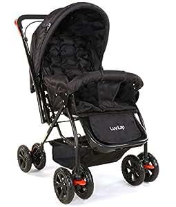 Luvlap Star Shine Baby Stroller (Black)