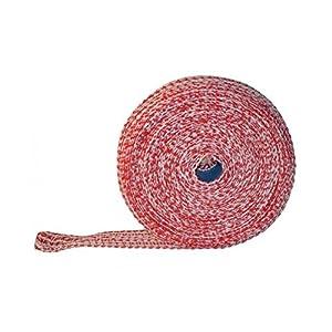 Lachsschinkennetze 50m rot/weiß 14er Schinkennetz Netz Bratennetz