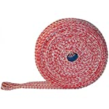 Zalmhamnet 50m rood/wit 14er hamnet net braadnet