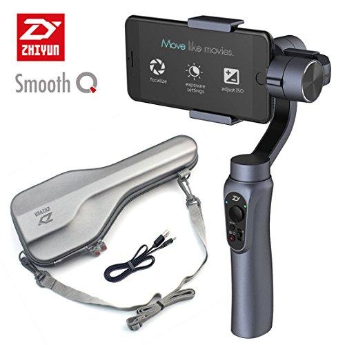 Zhiyun Smooth-Q 3-axis 3-ejes gimbal de mano,estabilizador para celulares como IPhone 7 Plus 6 Plus Samsung Galaxy S7 S6 S5...