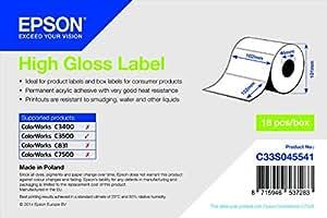 High Gloss Label - Die-Cut