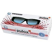 Gafas 3d n05ir–Universal Gafas 3d Active Shutter 3d de PULOX apto para Samsung (LCD/LED), Philips, Sharp, Toshiba, Sony, Panasonic, LG, MITSUBISHI (Consultar Descripción del producto para compatibilidad.)