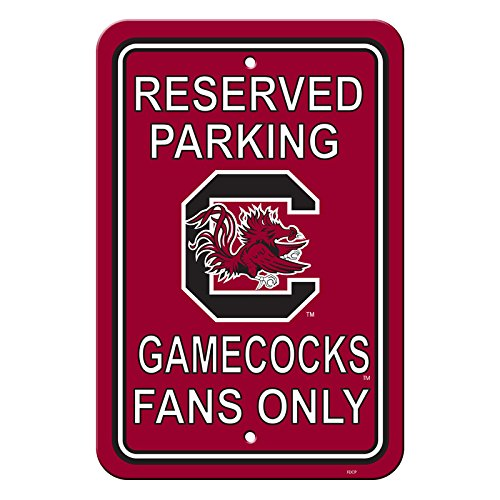 Offizielles National Collegiate Athletic Association Fan Shop authentische NCAA-Parken Schild. dem Spiel Ihr Revier mit diesem Schild. Ideal für das Büro oder man Cave., South Carolina Gamecocks (South Carolina Gamecock Fußball)