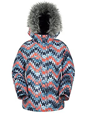 Zakti Girls Ice Crystal Printed Ski Jacket Porpora Magico 116