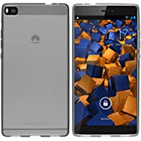 mumbi Schutzhülle Huawei P8 Hülle transparent schwarz