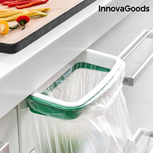 InnovaGoods Soporte para Bolsas De Basura, Blanco, Talla Unica