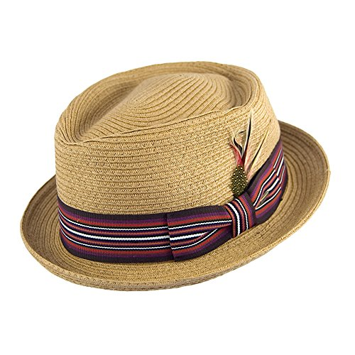chapeau-pork-pie-diamond-ble-scala-hats-x-large