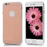 Lanveni® Gespiegelt TPU Softcase für iPhone 6 Plus/ 6s Plus(5,5 Zoll)Cover Schutzhülle Telefon-Kasten Backcover Shell Handyhülle Bumper Handycase Rose Gold